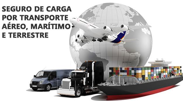 Seguro de Carga Transporte Aereo Maritimo Terrestre